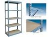 LIGHT DUTY RIVET RACK WITH 5 SHELVES