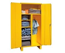 SPILL CONTROL CABINET WITH WARDROBE/BROOM STORAGE