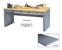ELECTRONIC WORKBENCHES WITH PANEL LEGS